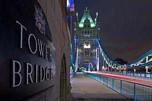 Tower Bridge detail te Londen