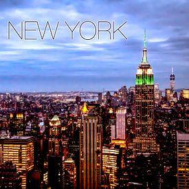New York Skyline van Stefan Verheij