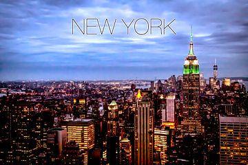 New York Skyline von Stefan Verheij