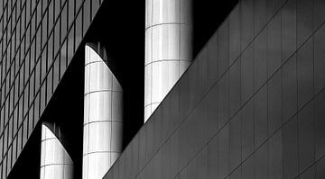 Architektonische Säulen (2) von Rob Wareman Fotografie