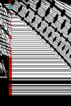 Rot und Cyan: Raster von Christophe Fruyt