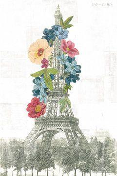 Floral Tour Eiffel, Wild Apple Portfolio sur Wild Apple