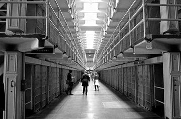 De gevangenis van Alcatraz - San Francisco - Amerika van Maurits Simons