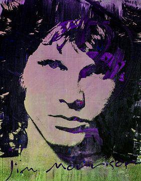Jim Morrison von Angelique van den Berg