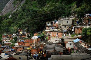Favela Santa Marta van