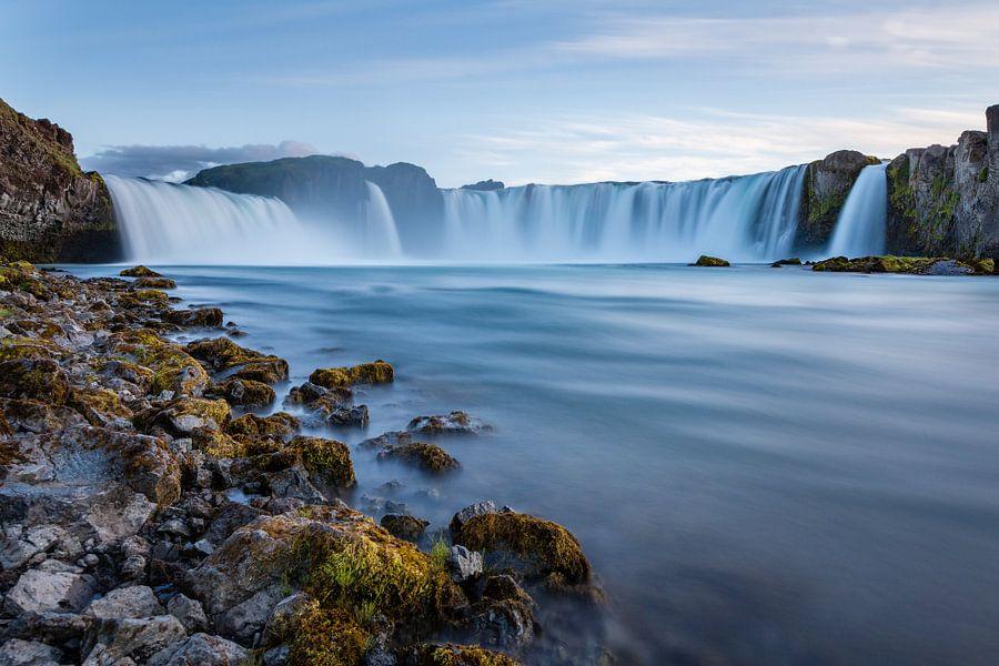 Godafoss Iceland van Bart van Dinten