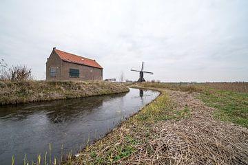 Zandwijkse Widmolen in Uppel van Marcel Derweduwen