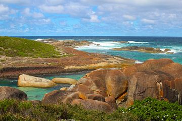 Elephant rocks - Granitfelsen im William Bay National Park, Australien von Ines Porada