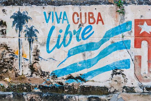 Graffiti revolutie Cuba 2