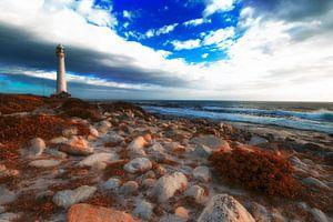 Baken aan de kust
