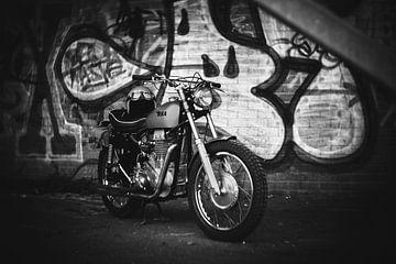 BSA-Oldtimer-Motorrad von Mijke Bressers