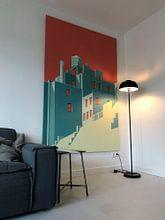 Kundenfoto: the Village NYC von Remko Heemskerk, auf leinwand