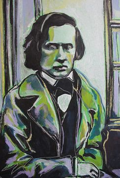 Frederic Chopin von Helia Tayebi Art