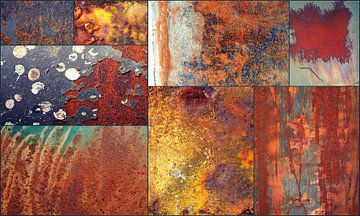 collage oud roest... van Els Fonteine
