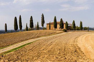 Landhuis in Toscane von Marcel van der Voet