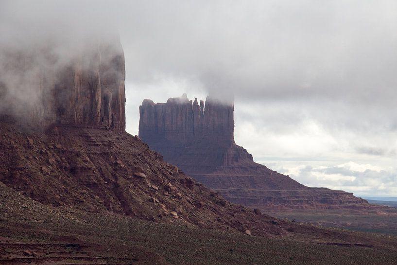 Monument Valley, Utah, Amerika van Henk Alblas