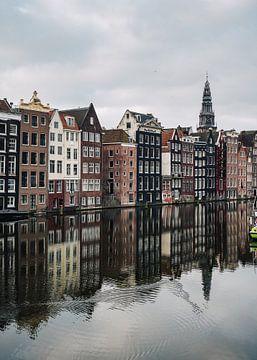 Damrak Amsterdam sur Lorena Cirstea