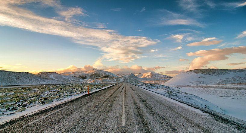 IJsweg op IJsland von Frank Tauran