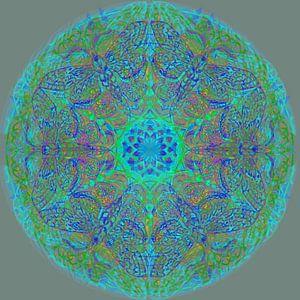 Mandala grafisch, diverse kleuren
