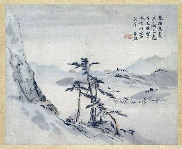 Chinesische Malerei, Gao Qipei, 1700 - 1750