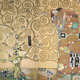 La frise de Stoclet, Gustav Klimt sur Meesterlijcke Meesters