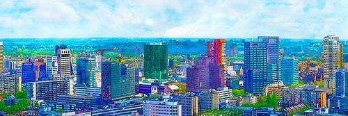 Rotterdam: Skyline-Panorama van