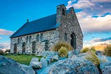 Church of good shepherd | Lake Tekapo  van Lorenzo Visser
