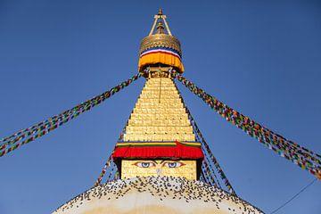 Bodnath Stupa in Kathmandu, Nepal