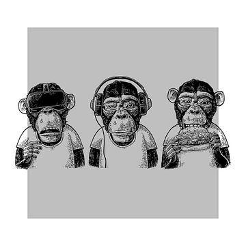 Monkey Business van Marja van den Hurk