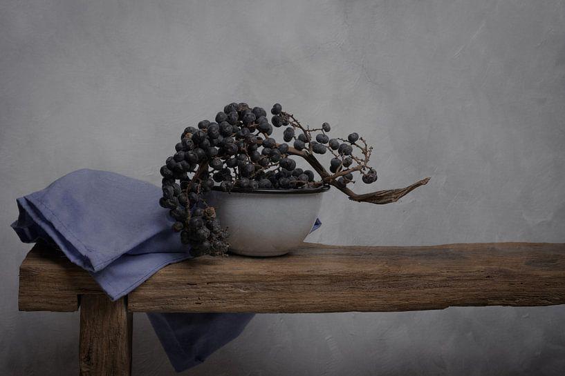 Datteln stilleben, inspiriert von den Werken des Goldenen Zeitalters von Joske Kempink