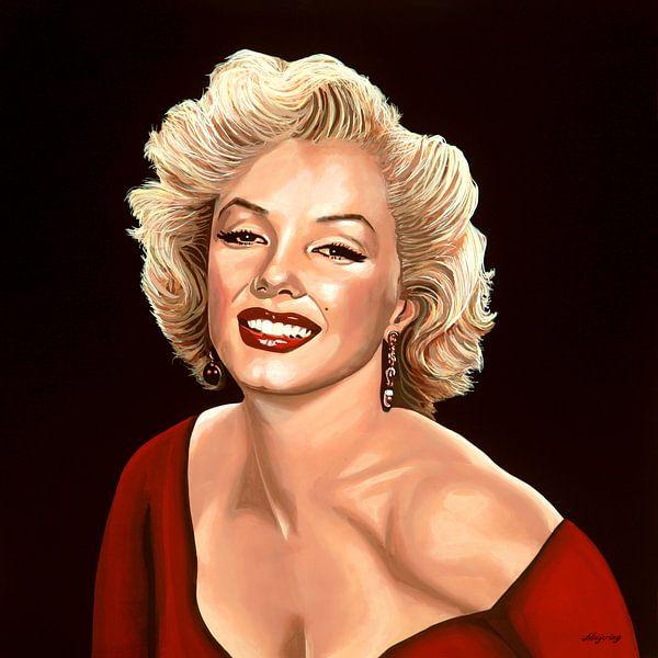 Marilyn Monroe Schilderij 3 van Paul Meijering