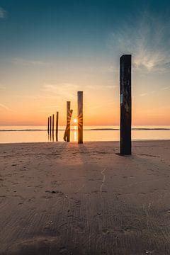 Sonnenuntergang an der Küste von Richard Nell