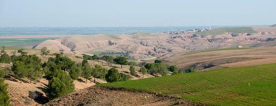 Atlasgebergte panoramafoto van Keesnan Dogger Fotografie