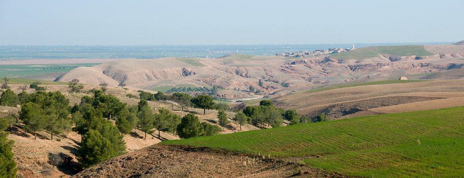 Atlasgebergte panoramafoto