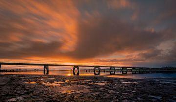 Nieuwendijk Brücke Kampen von Dennie Jolink