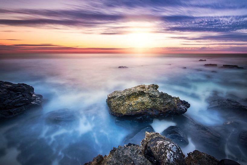 Sunset at the rocks van Martijn Kort