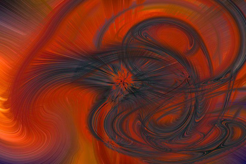 Digital abstract 19 van Leo Luijten