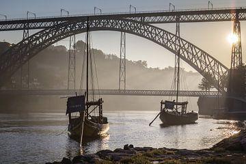 sunrise @ Ponte Dom Luís 1 sur Steve Mestdagh