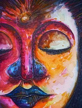 Buddha 26122020 von Michael Ladenthin