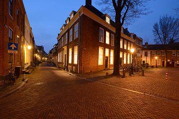 Pieterskerkhof en Pieterstraat in Utrecht sur Donker Utrecht