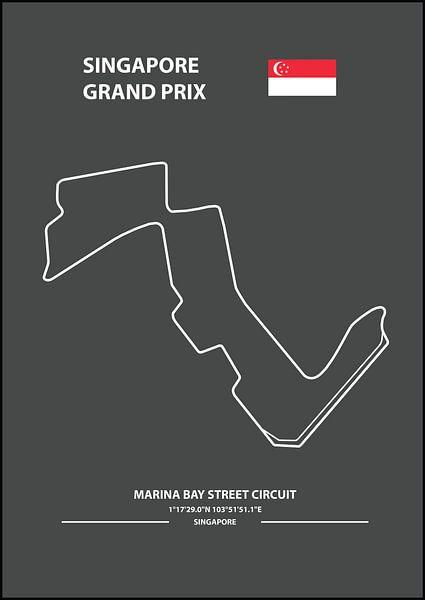 SINGAPORE GRAND PRIX | Formula 1 von Niels Jaeqx