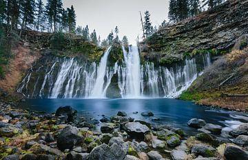 Burney Falls  van Erwin van Oosterom
