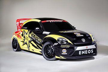 Volkswagen (VW) Beetle Global Rally Cross (GRC) van Ronald George