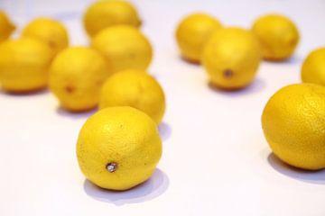 gele citroenen van