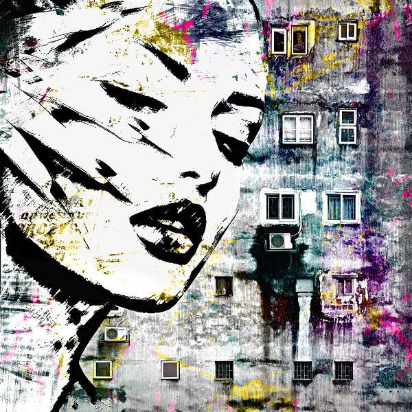 Poverty and beauty van PictureWork - Digital artist