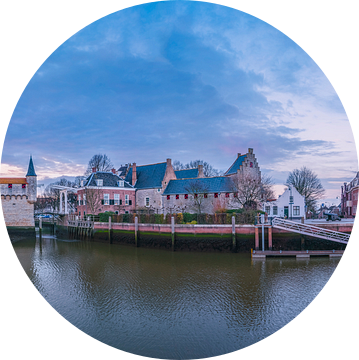 Panorama Zierikzee van Sander Poppe