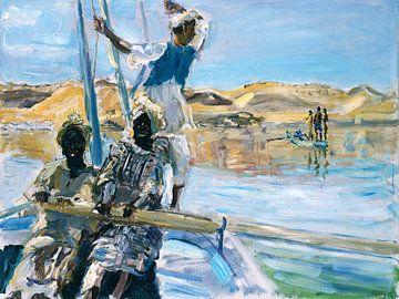 Piraten - Max Slevogt, 1914 van Atelier Liesjes