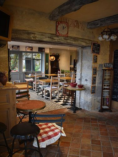 Sfeervol Cafe in Frankrijk van