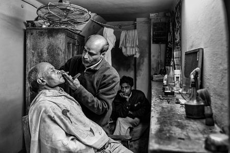 Time in the barbershop
