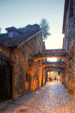 St. Catherine's Passage, Benedenstad, Oude Stad , Tallinn, Estland, Europa